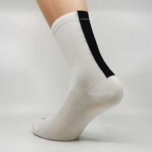 Kolesarska nogavica - bela