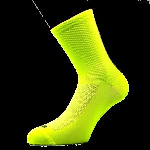 Kolesarska poKolesarska nogavica - rumenaliamidna nogavica žive barve