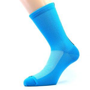 Kolesarska nogavica - modra