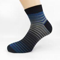 Nogavice Grey/Blue Zebra