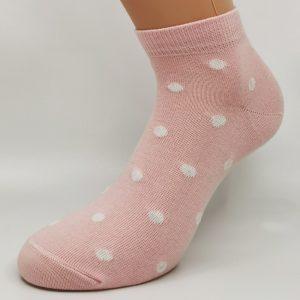 Nogavice Pink Polka Dot