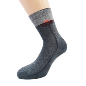 Nogavice Gerbera - bombažna visoka ženska nogavica
