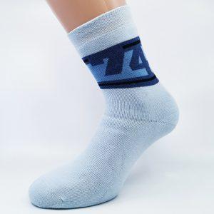 Nogavice Modra 74