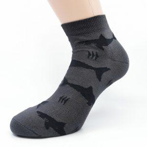 Nogavice Grey Sharks