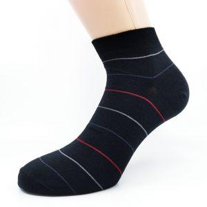 Nogavice Red & Grey