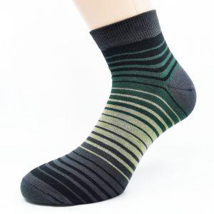 Nogavice Green/Grey Zebra
