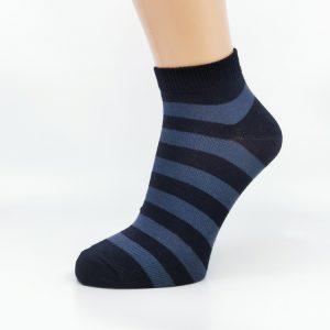 Nogavice Temno modre črte