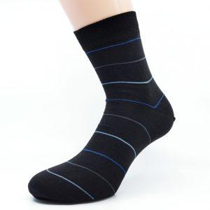Nogavice Black Blue & Grey