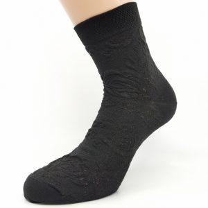 Nogavice 3D črna vrtnica