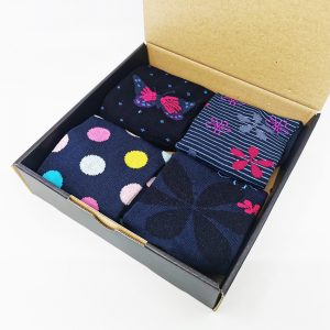 Darilni paket Butterfly World - 4 nizke nogavice