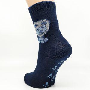 Nogavice Temno modri levček