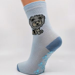 Nogavice Svetlo modri levček